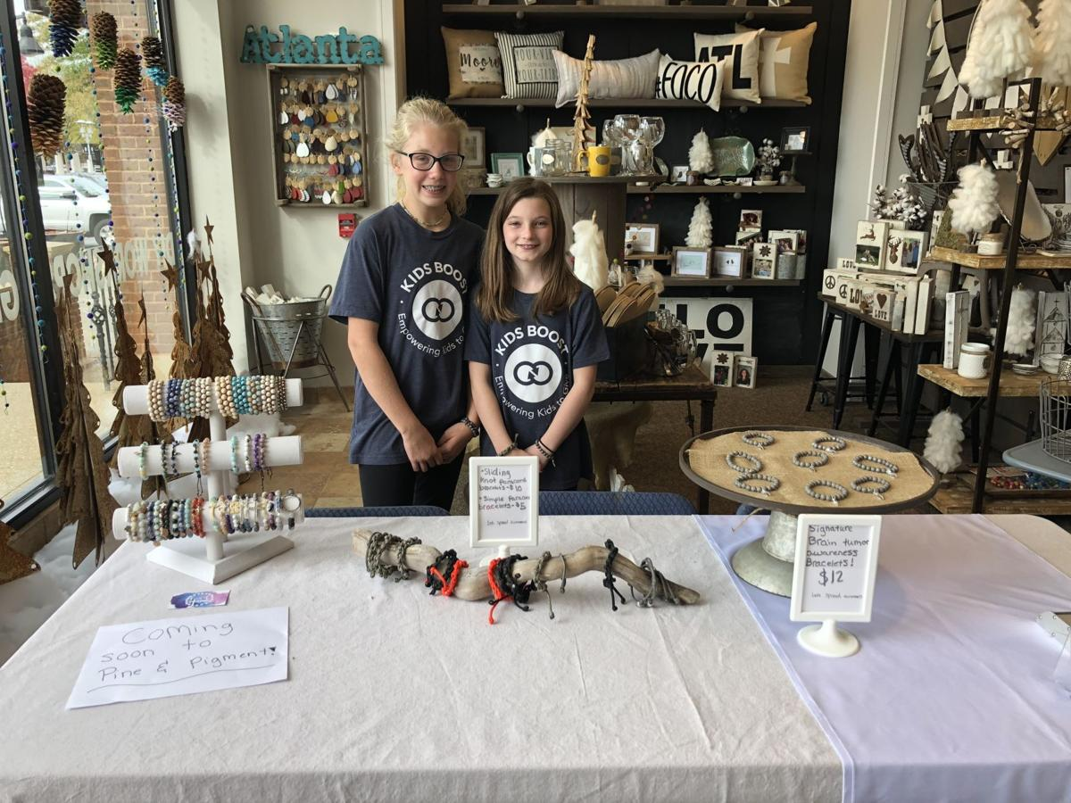 Local girls fundraise to fight brain cancer