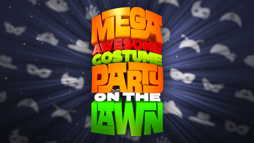Mega Awesome Costume Party on the Lawn