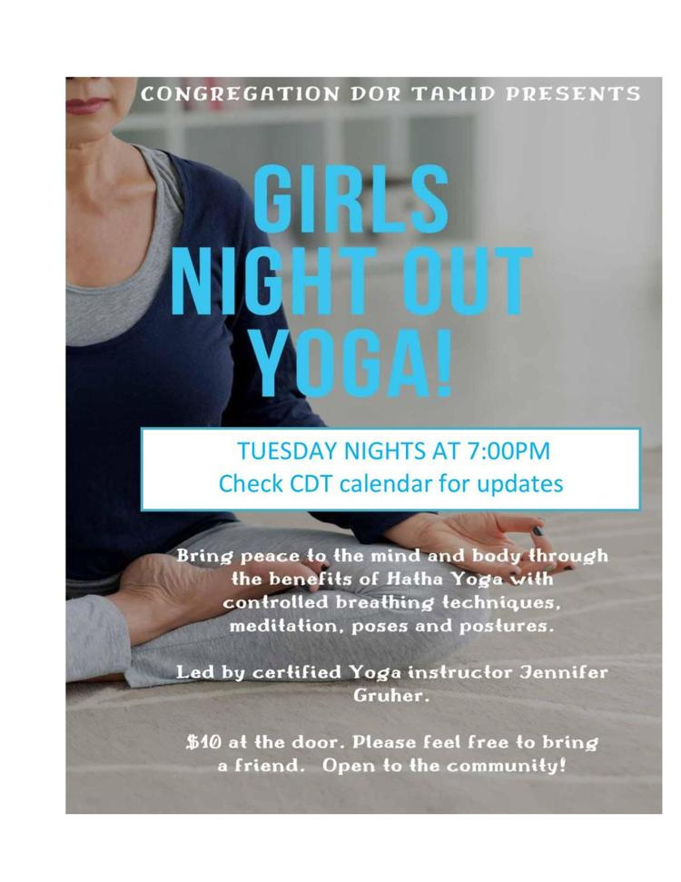 Girls Night Out Yoga!