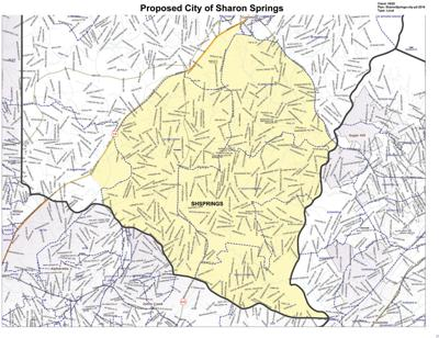 Proposed City of Sharon Springs