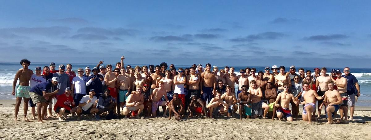 Milton football travels to California for 'once-in-a-lifetime' experience