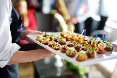 Stock Food Tray