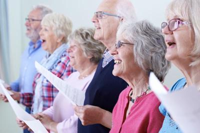 Parkinsons singing group