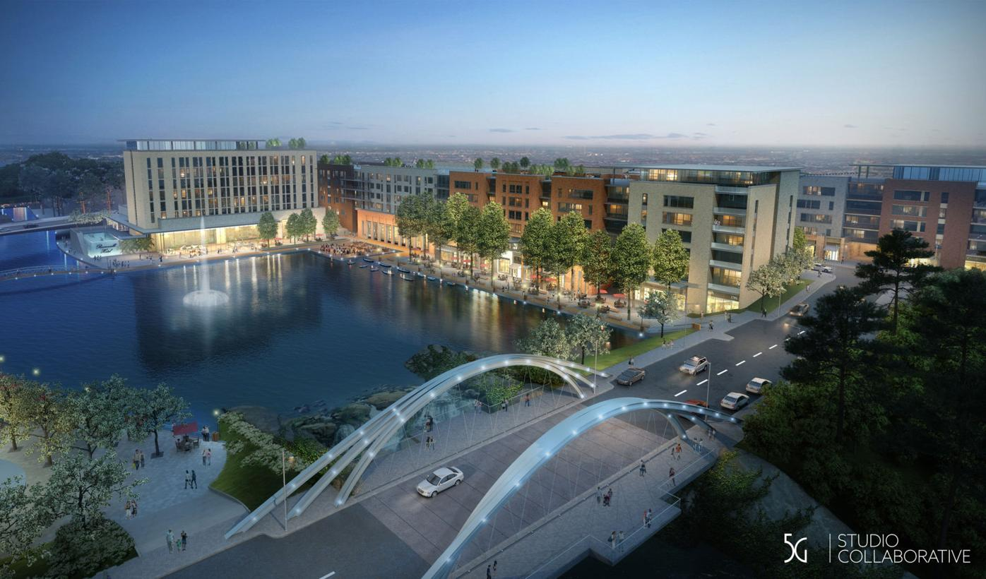 Roswell gets first glimpse at Riverwalk Village
