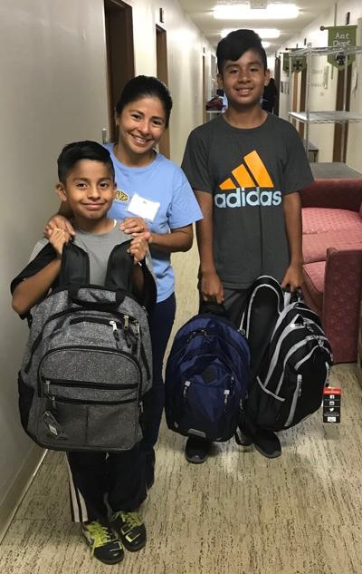 Back(pack) to the Future - annual backpack drive via Malachi's Storehouse