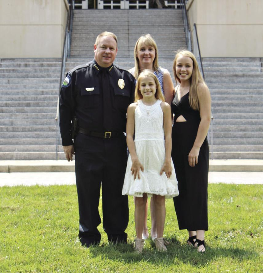 Chief Conroy and Family