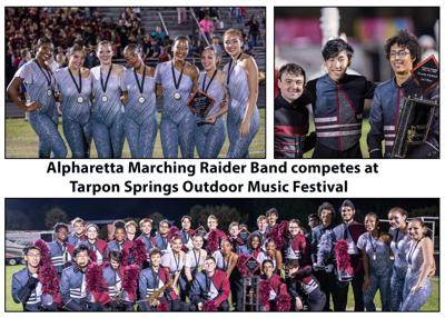 AHS Marching Band in Tarpon Springs
