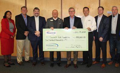 Mingledorff's Presents Gwinnett Tech with Gift