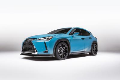 Lexus UX brings the fight to manspreading