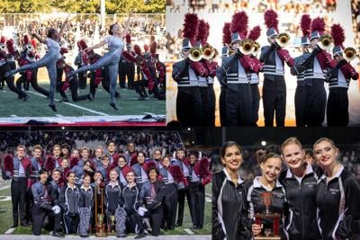 Marching Raiders Compete at White Columns Invitational