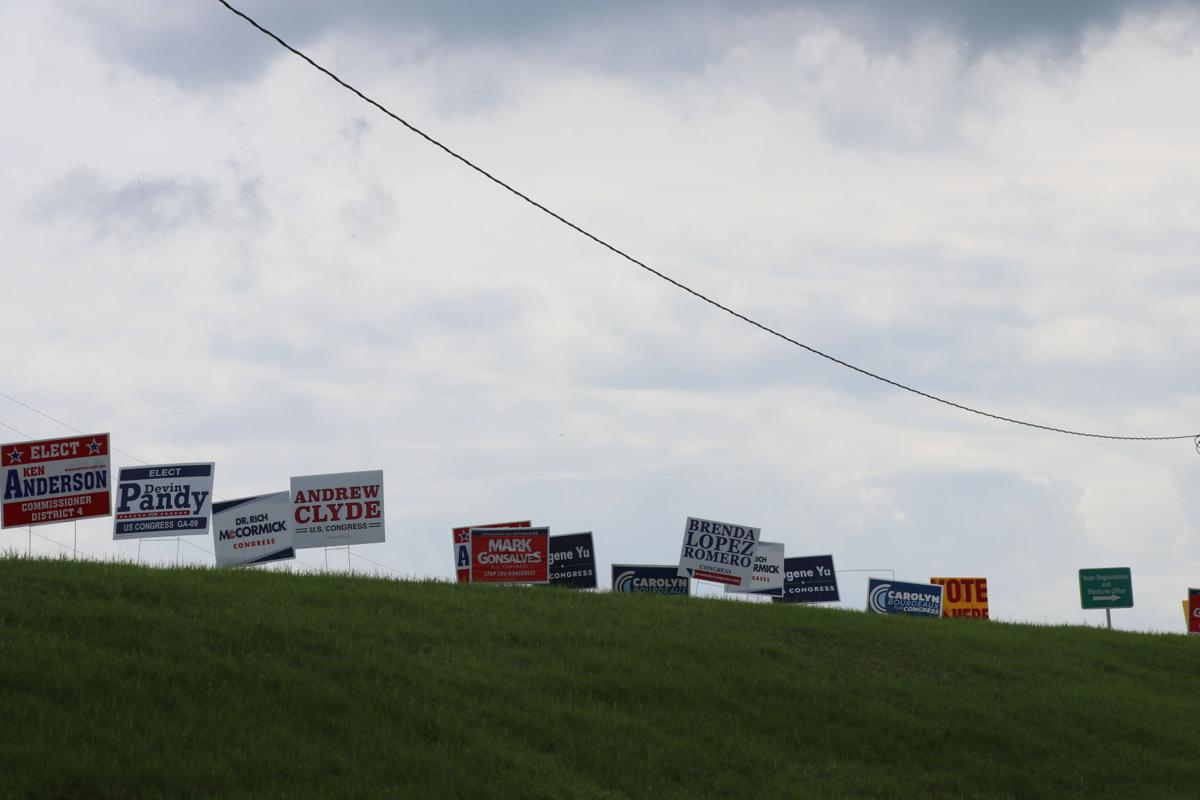 Forsyth Campaign Signs