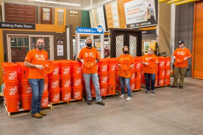 The Home Depot Foundation Building COVID-19 Relief Kits