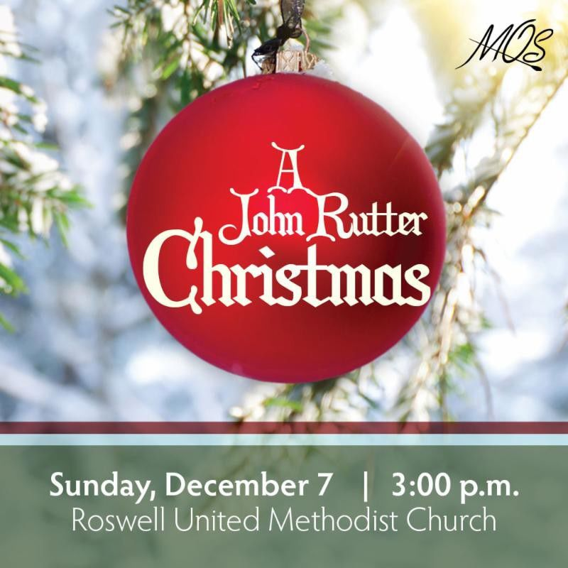 mos chorus john rutter christmas set dec 7