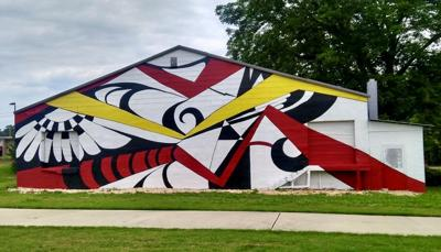 Public Art: Lost Wall Recreated at Gainesville Midland Art District