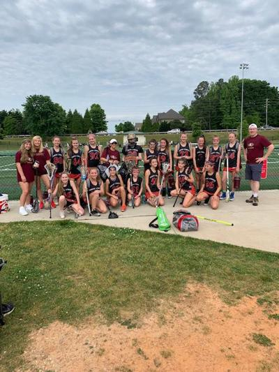 Jr. Gladiators Girls Lacrosse Team