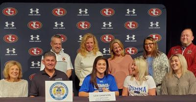 JCHS Senior Girls Lacrosse Player Signs at USMMA