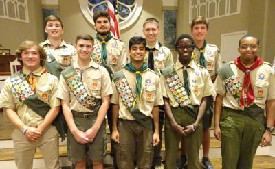 July Eagle Scouts
