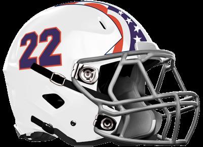 Mt Pisgah HS Football helmet