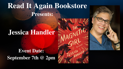 Jessica Handler Author Event at Read It Again Bookstore