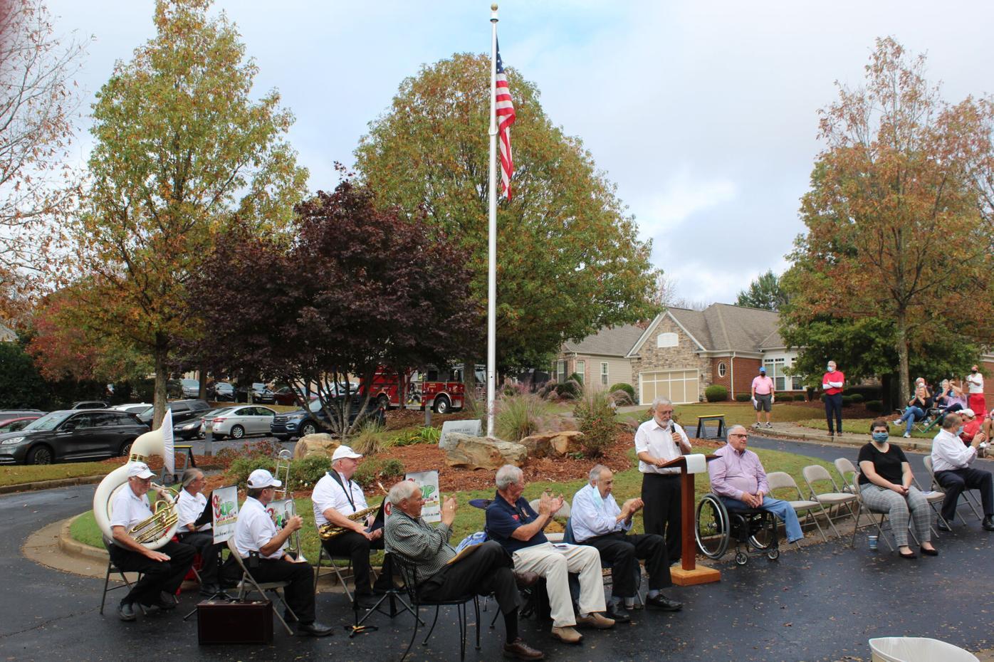 vickery lake veterans day