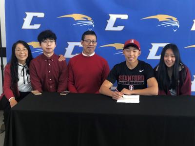 Yang signs with Stanford University