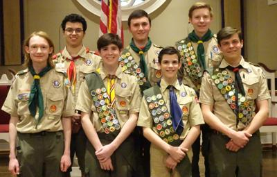 Norther Ridge February Eagle Scouts