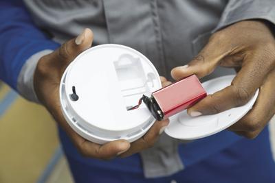 Stock fire alarm battery