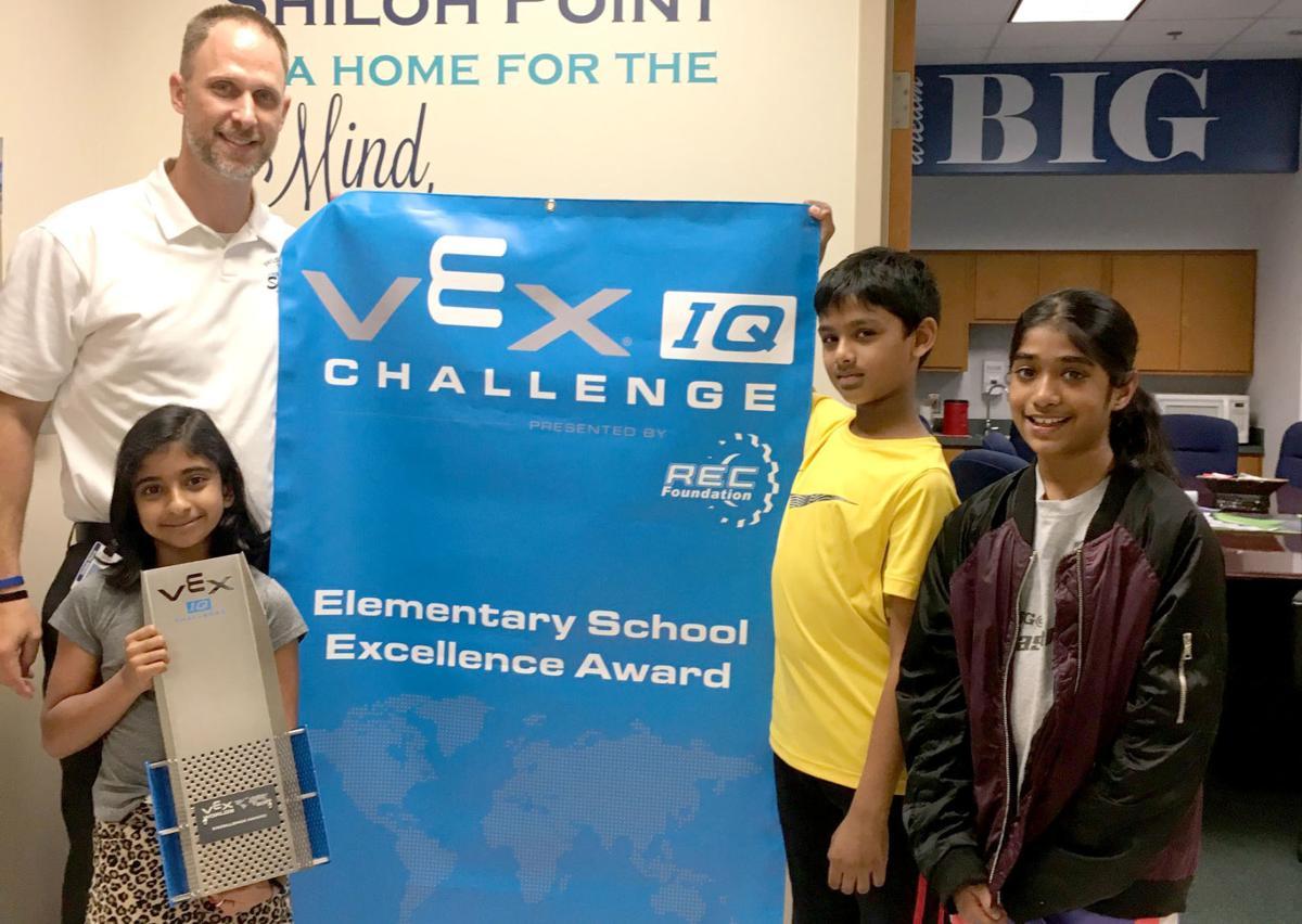 shiloh elementary students win crown jewel award