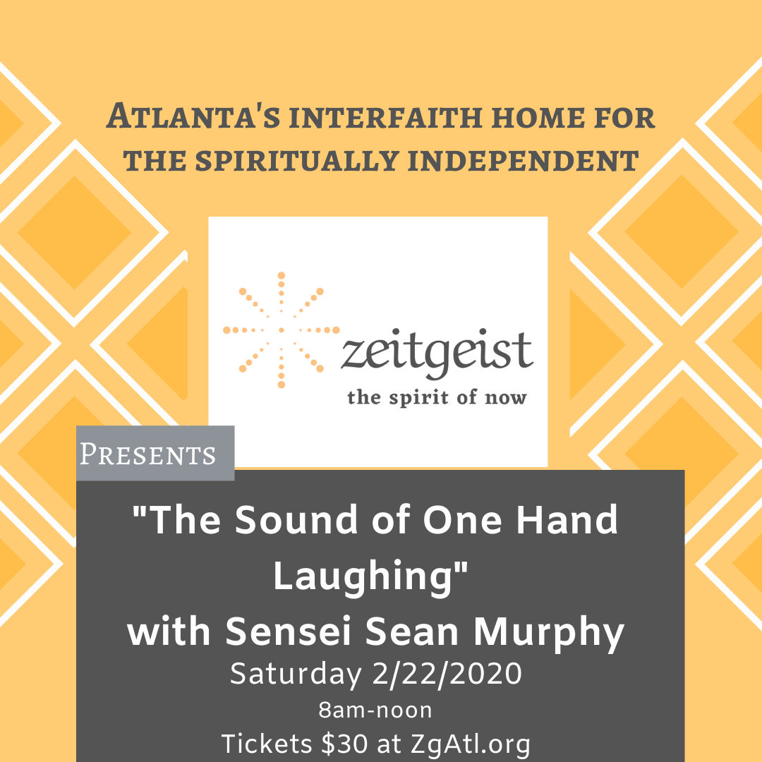 Sound of One Hand Laughing event flyer