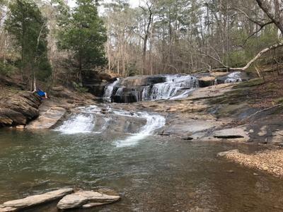 Wonderful waterfall in Woodstock
