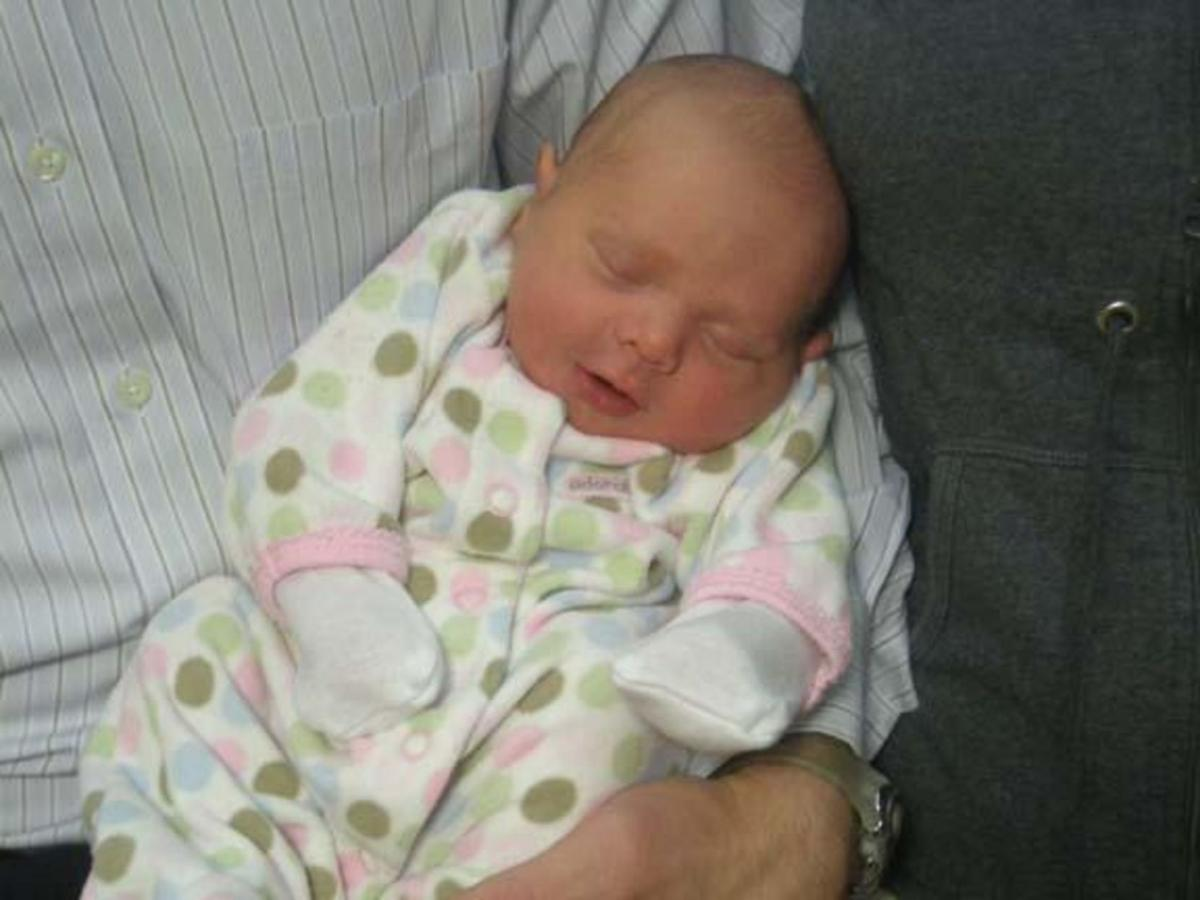 Lyla Staudt first baby of the year in Forsyth County