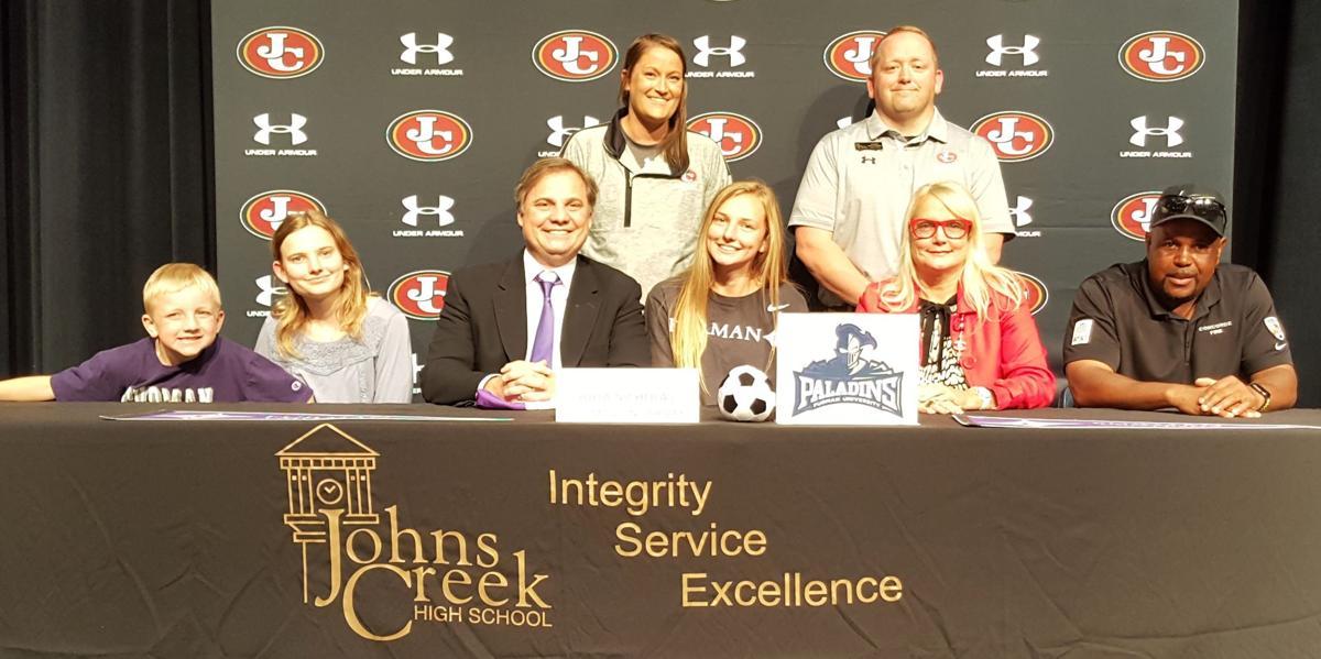 The Nicholas Family Celebrates Julia's Athletic Signing