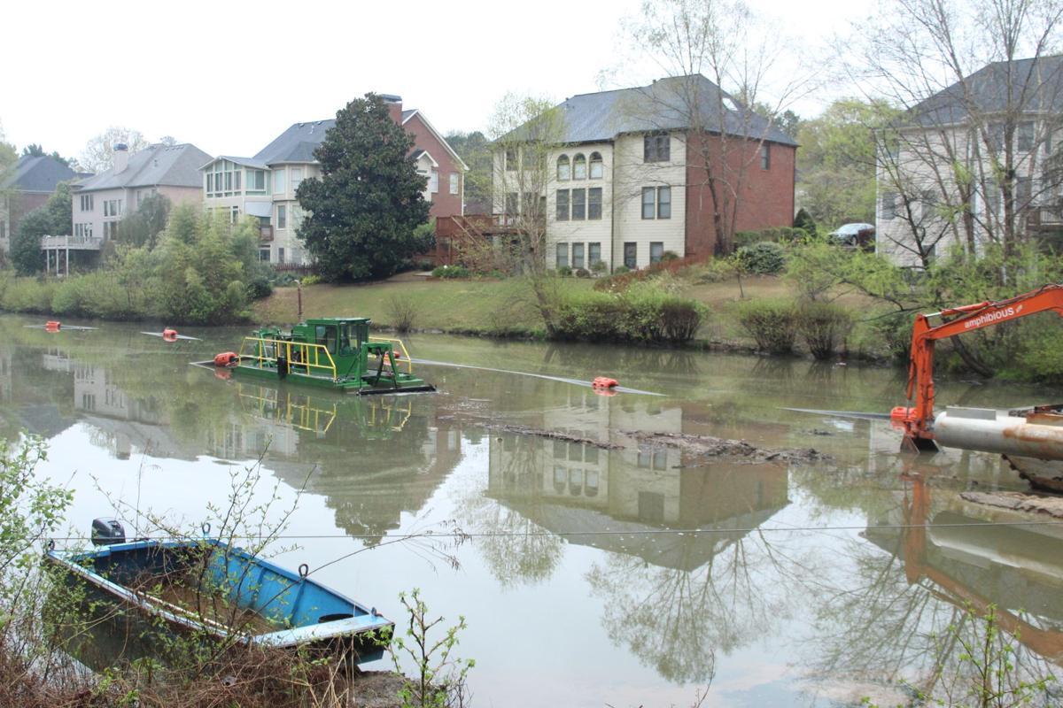 Medlock river dredge