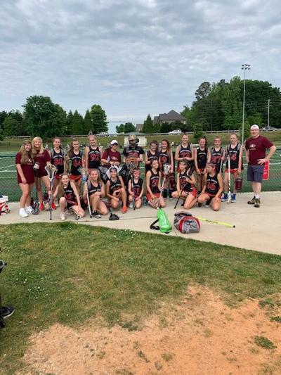 Jr. Gladiators Girls Lacrosse Team