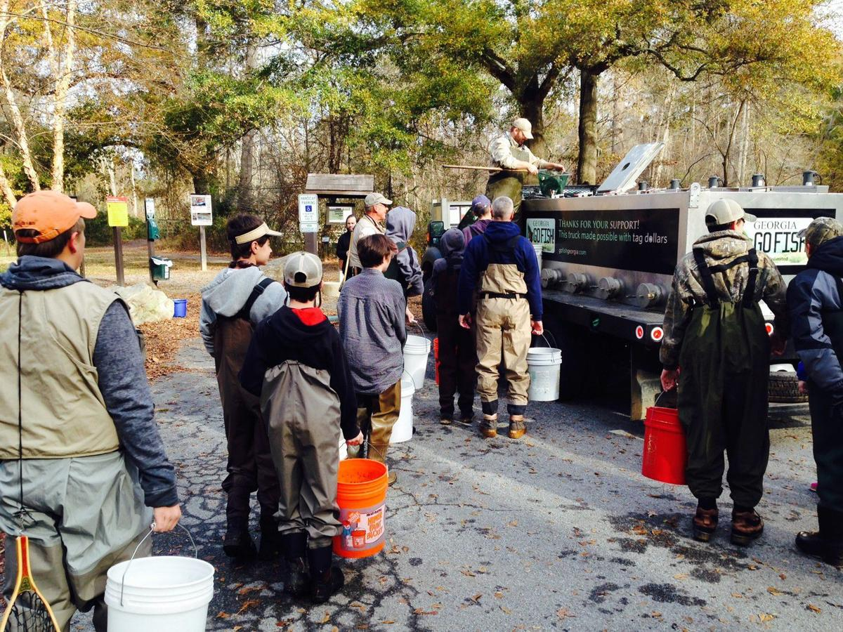 Help stock trout in the Chattahoochee
