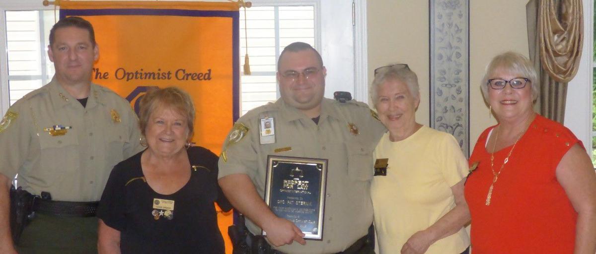 Optimists honor Forsyth County deputy   Community   northfulton com