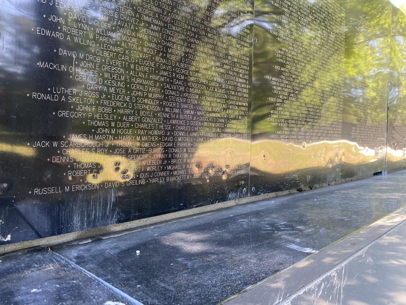 Vietnam Veterans Memorial Suffers Damage From Vandals Johns Creek Herald Northfulton Com