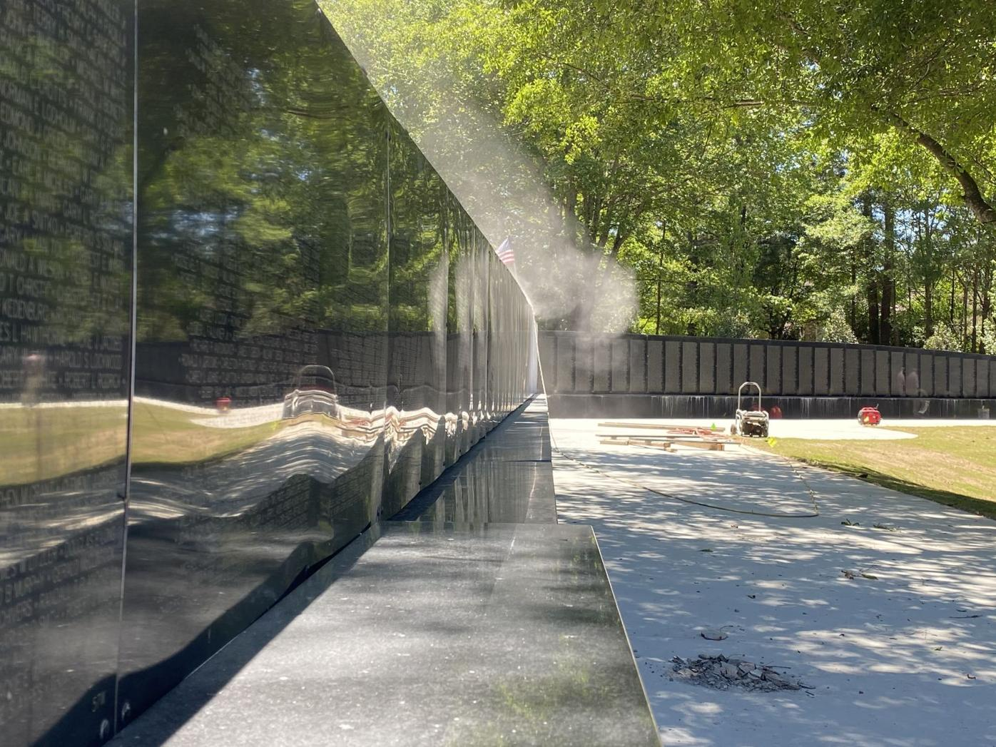 Vietnam Veterans Memorial Suffers Damage From Vandals Johns Creek Herald Northfulton Com