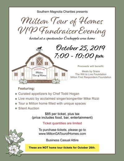 Milton Tour of Homes