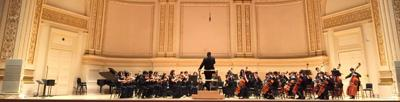 River Trail students play Carnegie Hall