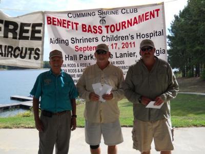 Shriner fishing tournament casts off at Lake Lanier on Sept
