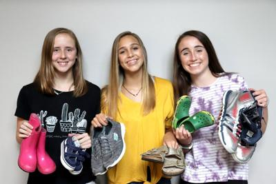 Local Girl Scouts organize  shoe drive to benefit charity
