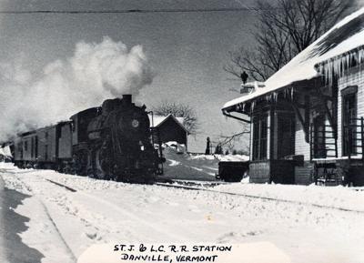 The railroad arrives in Danville