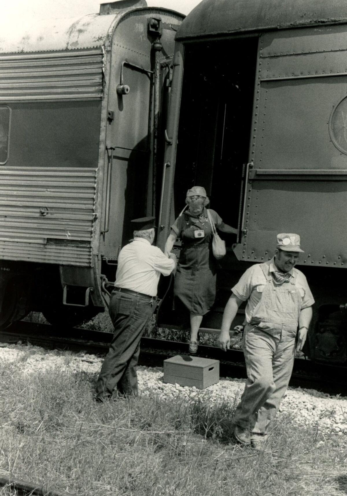 Danville Fair train rides August 14, 1984 Hardwick Gazette photo.jpg
