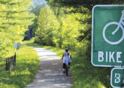 As rail trail projects move forward, communities look to capitalize  on recreation wave