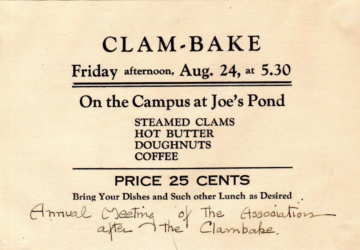 Clam Bake Ad, 1928.jpg