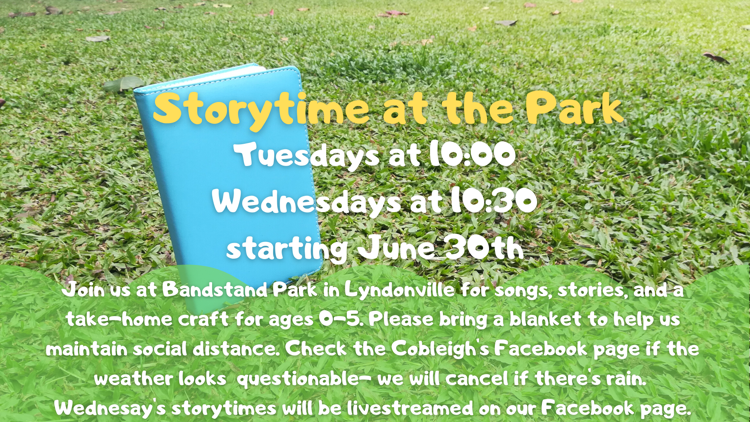 Storytime at Bandstand Park