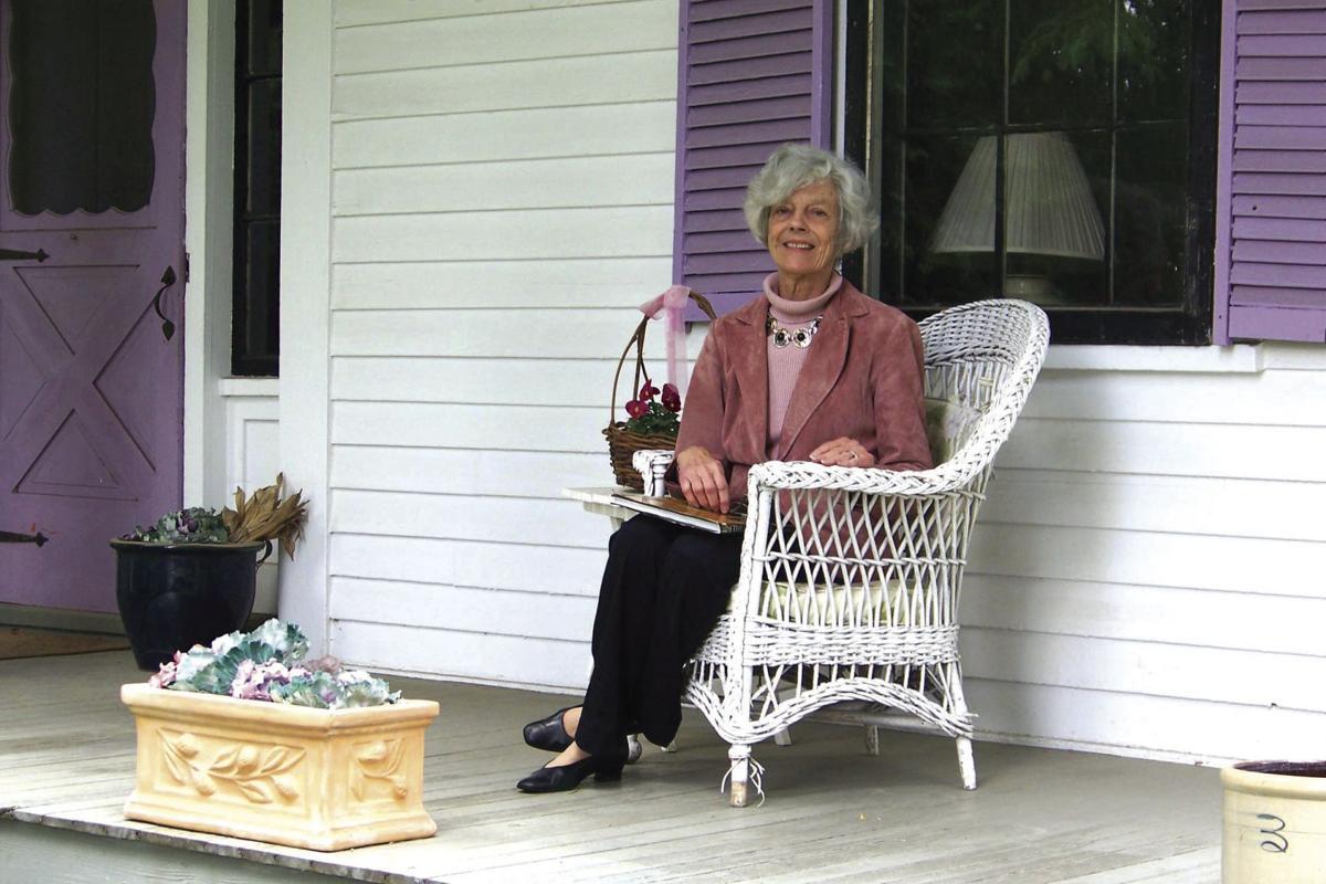 Margaret Ryan on her front porch.jpg