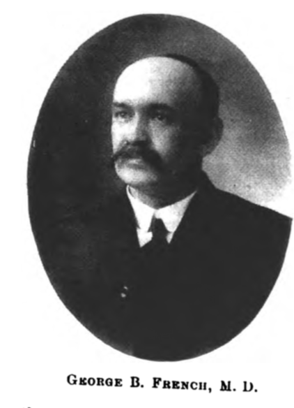 George B French from Successful Vermonters.png