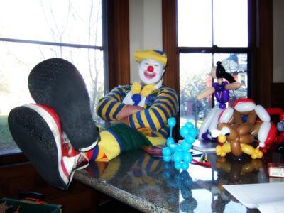 buddy the clown